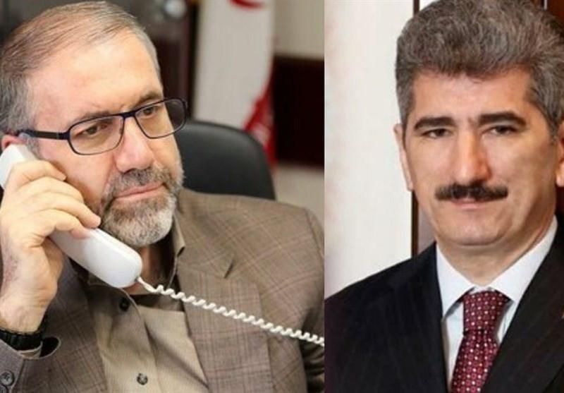 گفتگوی تلفنی ذوالفقاری با همتای ترکیه ای و آنالیز آخرین تحولات در مبارزه با کرونا